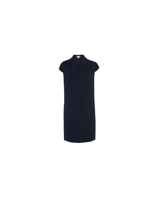 Whistles   Blue Paige V-neck Dress   Lyst