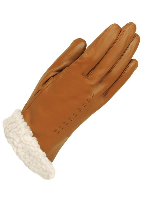 Wilsons Leather - Brown Nappa Sherpa Lined Leather Glove - Lyst