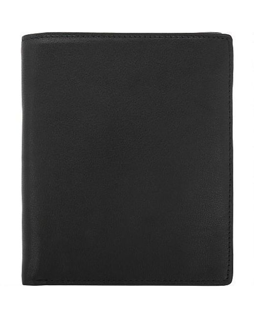 289128035cc Lyst - Wilsons Leather Cashmere Leather Attache Wallet in Black for Men