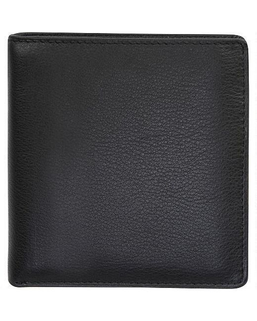 c458aac73e1 Wilsons Leather - Black Cashmere Leather Hipfold for Men - Lyst ...
