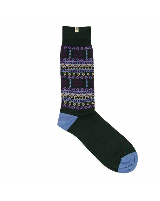 40 Colori - Dark Green Norwegian Organic Cotton Socks for Men - Lyst