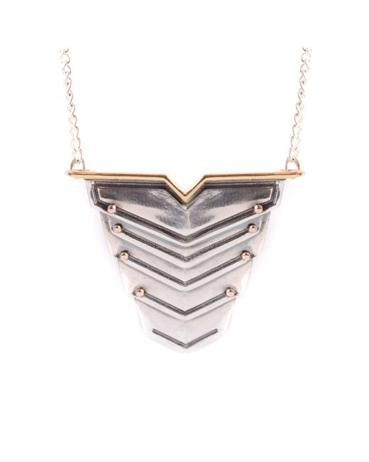 Lee Renee - Metallic Romeo Necklace for Men - Lyst