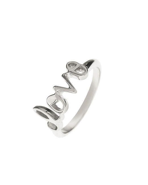 Latelita London   Metallic Cosmic Love Ring Silver   Lyst