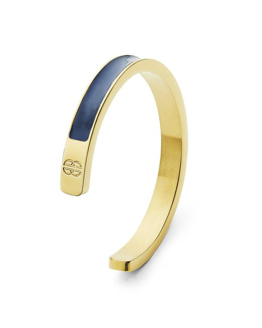 Whistle & Bango | Blue Navy & Gold Solid Cuff | Lyst