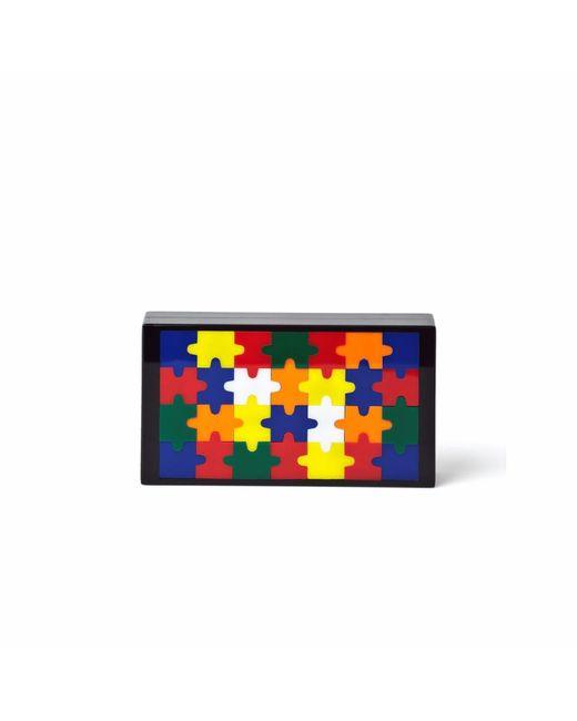 YOANNY GARCIA Multicolor Puzzle Clutch