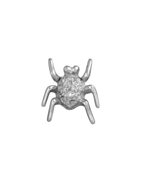 Edge Only | Metallic Spotted Bug Lapel Pin Silver | Lyst
