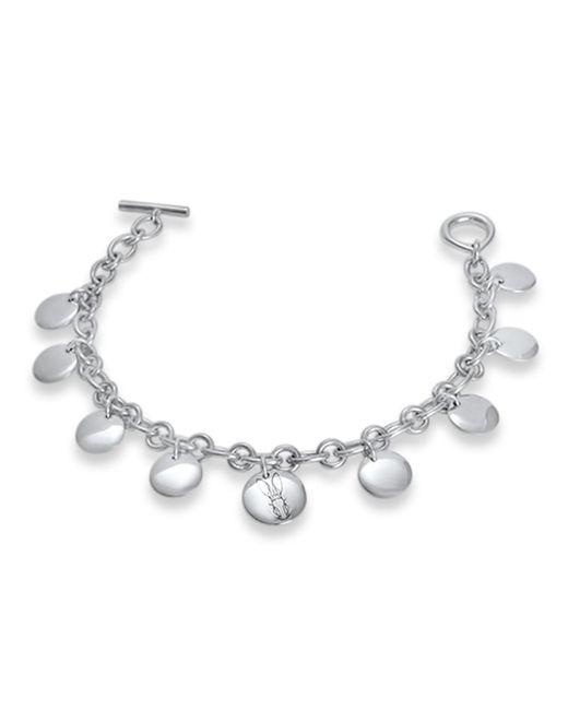 Hargreaves Stockholm   Metallic Bracteate Silver Bracelet   Lyst