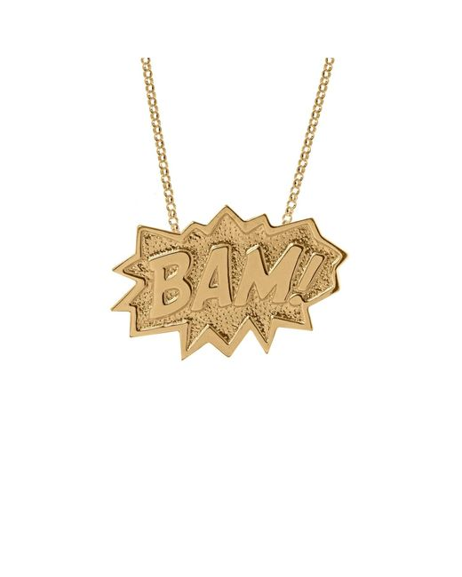 Edge Only | Metallic Bam Necklace Extra Large Long In Gold | Lyst