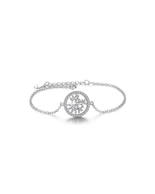 Opes Robur | Metallic Free Of Life Sterling Silver Charm Bracelet | Lyst