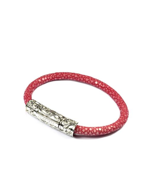 CLARISTE JEWELRY | Multicolor Women's Pink Stingray Bracelet With Silver Lock | Lyst
