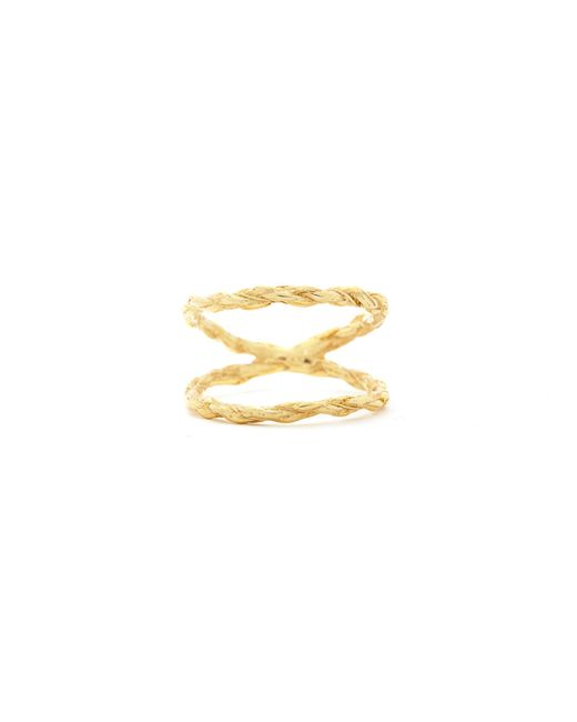 Chupi - Metallic We Are Twice As Strong Together Ring Gold - Lyst