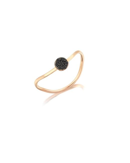 Sadekar Jewellery | Metallic Black Diamond Pave Ring | Lyst