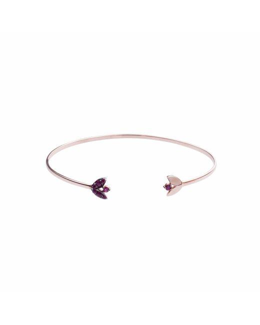 Sadekar Jewellery | Multicolor Ruby Stone Flower Bracelet | Lyst