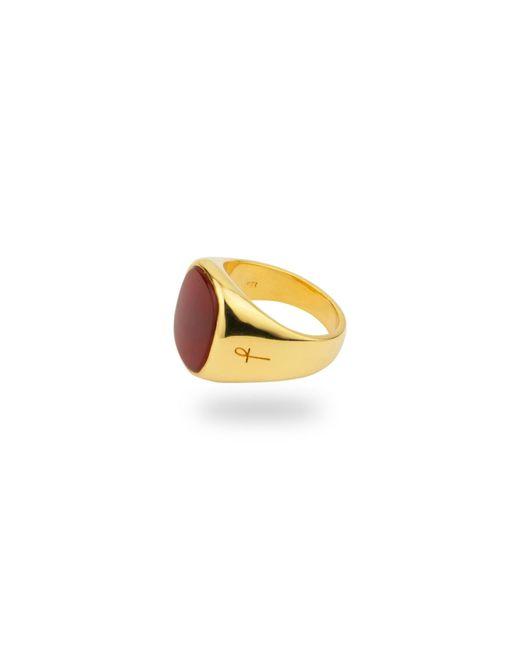 Phira London | Multicolor Jamestown Red Carnelian Agate Gold | Lyst