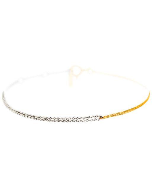 Dutch Basics | Metallic Interlinked Chain Bracelet Gold | Lyst
