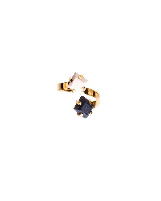 Dutch Basics   Metallic Porcelain Adjustable Ring   Lyst