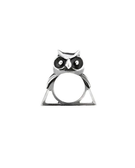Glenda López | Metallic The Owl Triangle Ring | Lyst