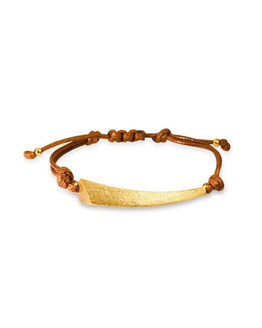 Ona Chan Jewelry | Metallic Dagger Corded Bracelet Gold | Lyst