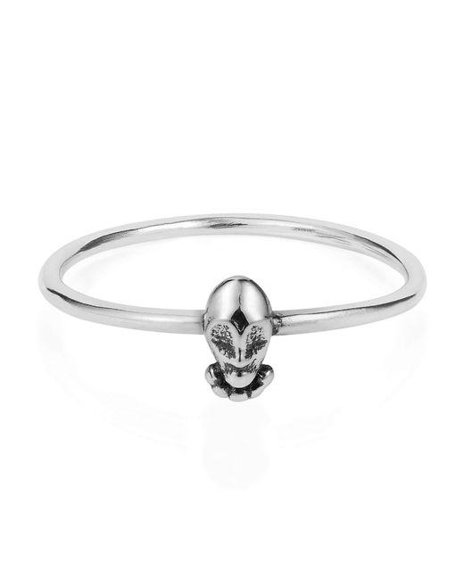 Lee Renee - Metallic Tiny Voodoo Orunla Ring Silver - Lyst