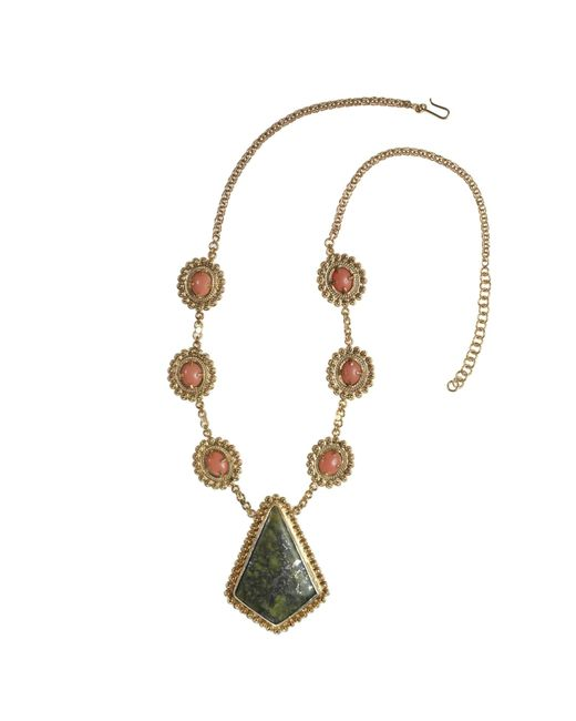 Vanilo | Metallic Augusta Necklace | Lyst