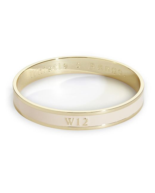 Whistle & Bango | Metallic W12 Bangle | Lyst