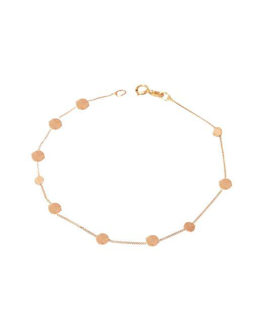 Lily Flo Jewellery - Metallic Stardust Scattered Stars Solid Rose Gold Bracelet - Lyst