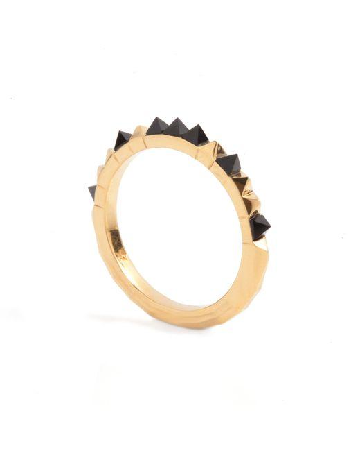 Kasun | Metallic Crocodile Onyx Ring Gold | Lyst