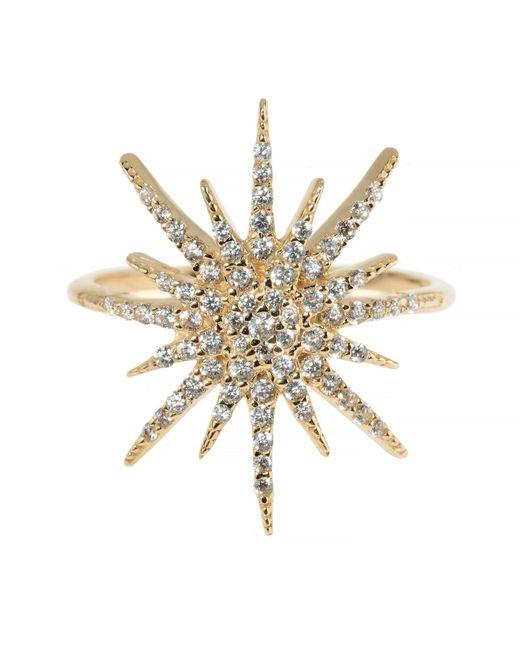 Talia Naomi | Metallic Supernova Ring | Lyst