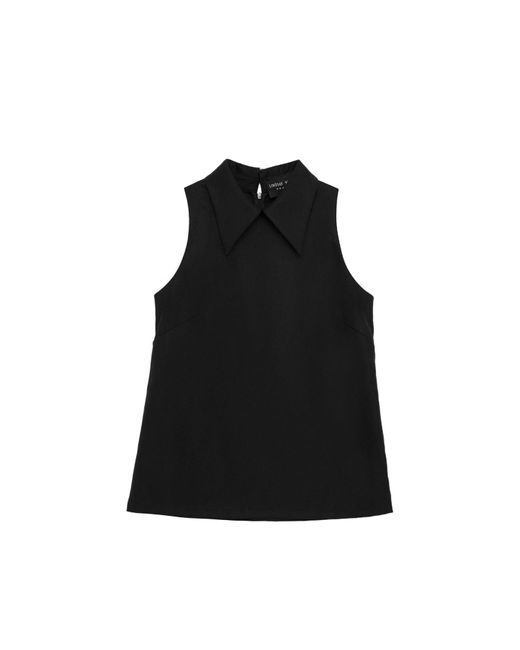 Lindsay Nicholas New York Black Fiona Top