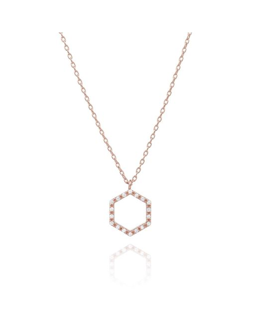Astrid & Miyu | Metallic Cast A Spell Necklace Rose Gold | Lyst