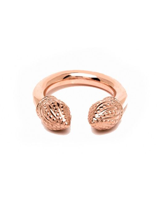 Durrah Jewelry - Multicolor Rose Cylinder Ring - Lyst