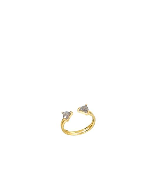 Tada & Toy | Metallic Shark Fin Ring Labrodite | Lyst