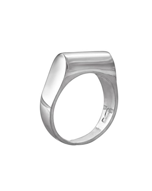 Edge Only - Metallic High Top Ring Silver - Lyst
