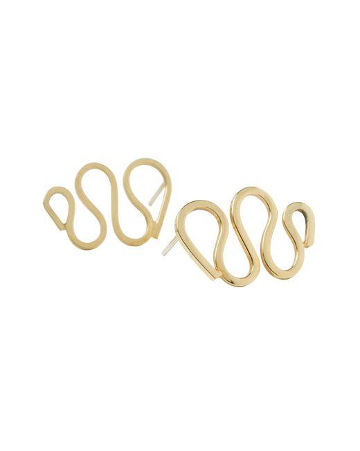 Dorota Todd | Metallic Loop Earrings | Lyst
