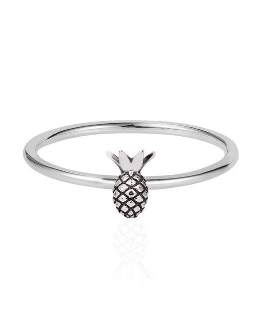 Lee Renee | Metallic Tiny Pineapple Ring Silver | Lyst