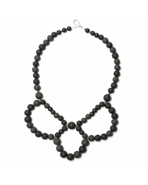 Hring Eftir Hring | Black Ballerina Necklace Coal | Lyst
