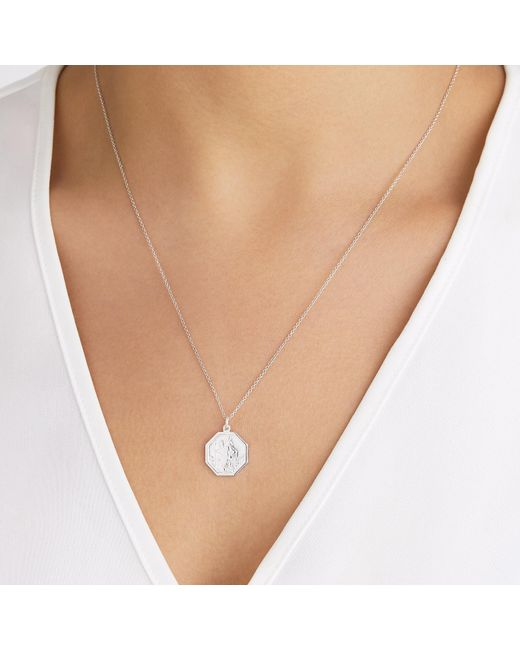 Lily & Roo Metallic Gold Diamond Style Bar Necklace