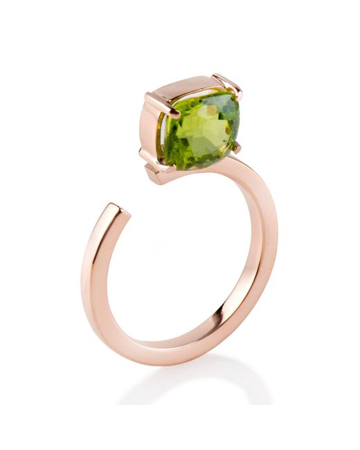 Myriamsos | Green The Top Stone Ring | Lyst
