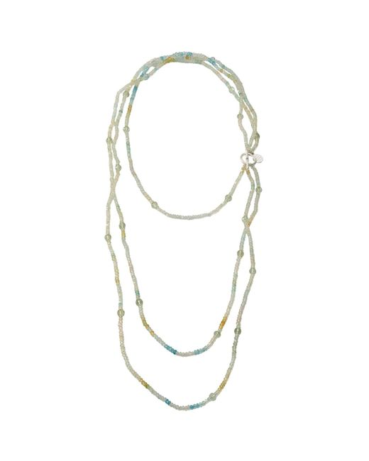 Mielini | Blue Aquamarina Necklace | Lyst