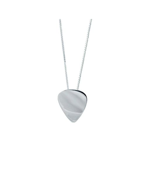 Edge Only - Metallic Washer Necklace Men's In Silver for Men - Lyst