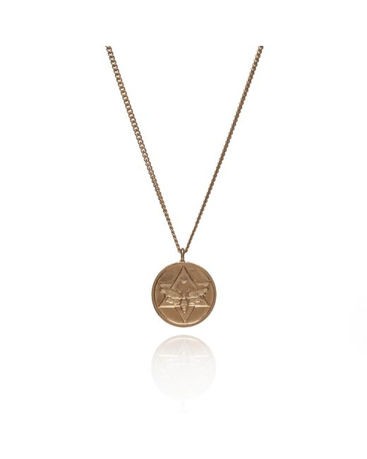 Rachel Entwistle | Metallic The Lunar Pendant Gold | Lyst