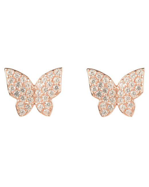 Latelita London | Multicolor Rosegold Butterfly Earring | Lyst