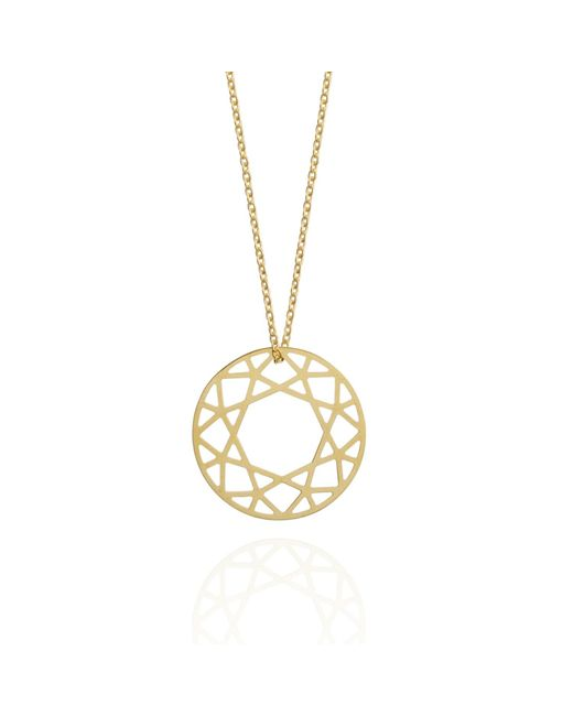 Myia Bonner | Metallic Medium Gold Brilliant Diamond Necklace | Lyst