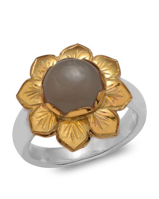 Emma Chapman Jewels | Multicolor Isa Black Moonstone Ring | Lyst