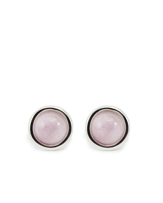 Vintouch Italy - Multicolor Satellite Sterling Silver Kunzite Stud Earrings - Lyst