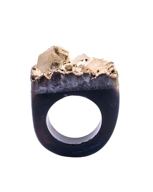 Tiana Jewel - Ember-metallic-gold-ring-moro-collection - Lyst