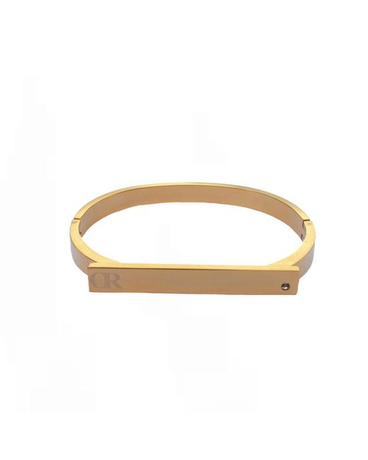Opes Robur | Metallic Gold Shackle Cuff Bracelet | Lyst