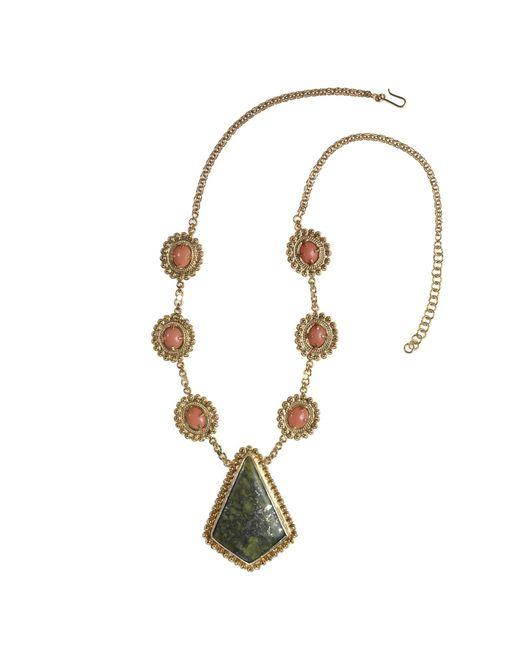Vanilo | Metallic Augusta Necklace | Lyst