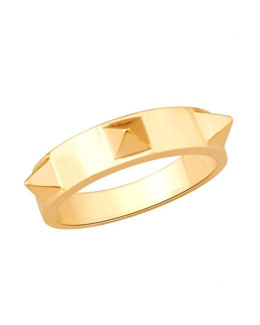 Artisan - Metallic Gold Designer Spike Ring - Lyst