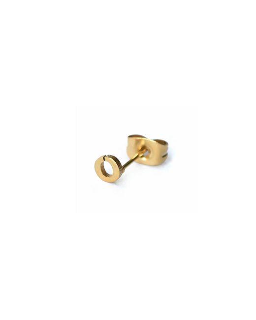 Whistle & Bango - Metallic Little Letter O Earring 18ct Plating - Lyst